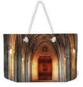 Arches At Duke Chapel Weekender Tote Bag