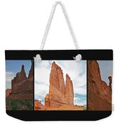 Arches National Park Panel Weekender Tote Bag