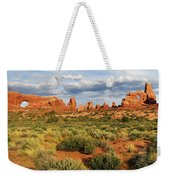 Arches National Park Panorama Weekender Tote Bag