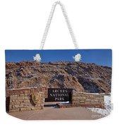 Arches National Park Utah Weekender Tote Bag
