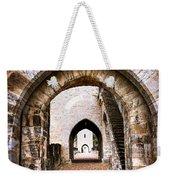 Arches Of Valentre Bridge In Cahors France Weekender Tote Bag