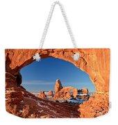 Arches Sandstone Frame Weekender Tote Bag