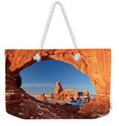 Arches Window Frame Weekender Tote Bag
