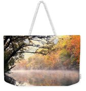 Arching Tree On The Current River Weekender Tote Bag