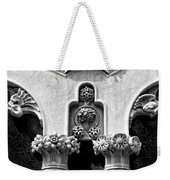 Architectural Detail - Barcelona - Spain Weekender Tote Bag