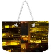 Architectural Fantasy - Perspective And Color Weekender Tote Bag