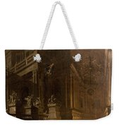 Architectural Fantasy With Figures Weekender Tote Bag by Stefano Orlandi