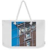 Architectural Juxtaposition Weekender Tote Bag