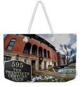 Architecture And Places In The Q.c. Series 01 The Twentieth Century Club Weekender Tote Bag