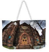 Architecture And Places In The Q.c. Series 01 Trinity Episcopal Church Weekender Tote Bag