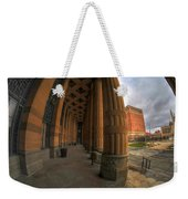 Architecture And Places In The Q.c. Series 03 City Hall Weekender Tote Bag