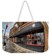 Architecture And Places In The Q.c. Series Bacchus Restaurant Weekender Tote Bag