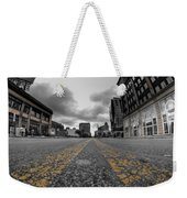 Architecture And Places In The Q.c. Series Delaware And Chippewa Weekender Tote Bag