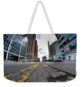 Architecture And Places In The Q.c. Series Delaware To Heart Of Queen City Weekender Tote Bag
