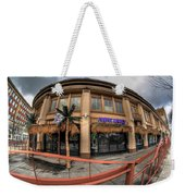Architecture And Places In The Q.c. Series Purple Monkey Weekender Tote Bag
