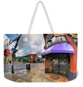 Architecture And Places In The Q.c. Series Spot Weekender Tote Bag