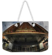 Architecture And Places In The Q.c. Series The Statler Towers Weekender Tote Bag
