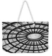 Architecture Ceiling In Black And White Weekender Tote Bag