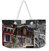 Architecture Color Weekender Tote Bag