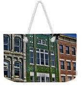 Architecture - Early City Buildings - Luther Fine Art Weekender Tote Bag