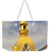 Architecture - Golden Cross Weekender Tote Bag