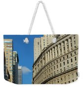Architecture In New York City Weekender Tote Bag