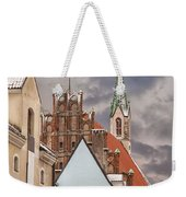 Architecture In Riga Latvia Weekender Tote Bag