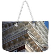 Architecture In The Morgan County Court House Weekender Tote Bag