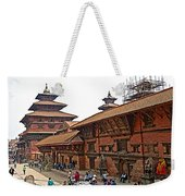 Architecture Of Patan Durbar Square In Lalitpur-nepal Weekender Tote Bag
