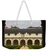 Archview To The Courtyard - France Weekender Tote Bag