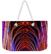 Archway In Grace Cathedral In San Francisco-california Weekender Tote Bag