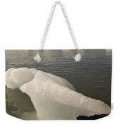 Arctic Ice Floe Weekender Tote Bag