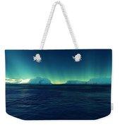 Arctic Lights Weekender Tote Bag