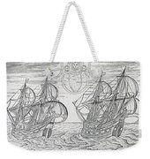 Arctic Phenomena From Gerrit De Veer S Description Of His Voyages Amsterdam 1600 Weekender Tote Bag