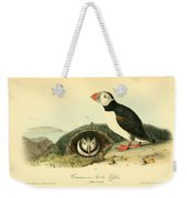 Arctic Puffin Weekender Tote Bag by Philip Ralley