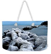 Arctic Waters Weekender Tote Bag