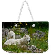 Arctic Wolf Pictures 1128 Weekender Tote Bag