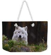 Arctic Wolf Pictures 208 Weekender Tote Bag