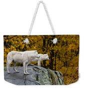 Arctic Wolf Pictures 930 Weekender Tote Bag