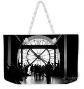 Are We In Time... Weekender Tote Bag