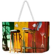 Are You Sitting Comfortably Weekender Tote Bag