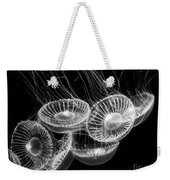 Area 51 - Moon Jellies Aurelia Labiata Weekender Tote Bag