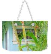 Areca Palms At The Window Weekender Tote Bag