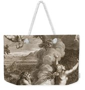 Arethusa Pursued By Alpheus And Turned Weekender Tote Bag
