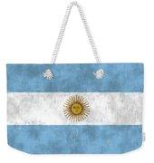 Argentina Flag Weekender Tote Bag