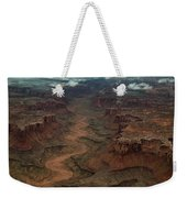 Ariel Photograph During A Spring Storm Weekender Tote Bag