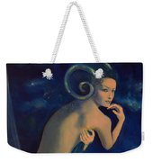 Aries From Zodiac Series Weekender Tote Bag by Dorina  Costras