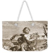 Arion Preserved By A Dolphin, 1731 Weekender Tote Bag