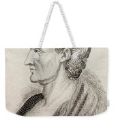 Aristotle From Crabbes Historical Dictionary Weekender Tote Bag
