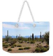 Arizona Desert Ride Weekender Tote Bag